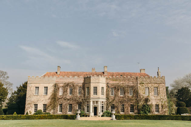 UK wedding venue, Narborough Hall Gardens