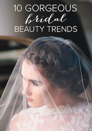 bridal beauty trends