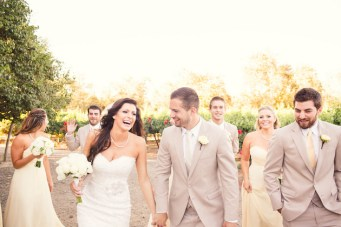 Beautiful Bloom-Filled Winery Wedding