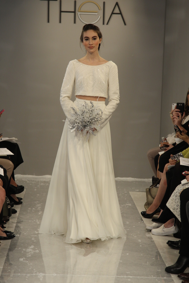 Bridal Fashion Week | 2015 Theia Collection | Bridal Musings Wedding ...