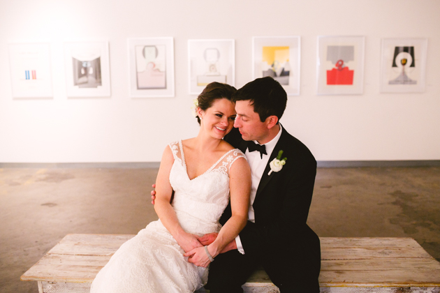 Chic Art Gallery Wedding | Mary Margaret Smith Photography | Bridal Musings Wedding Blog 26