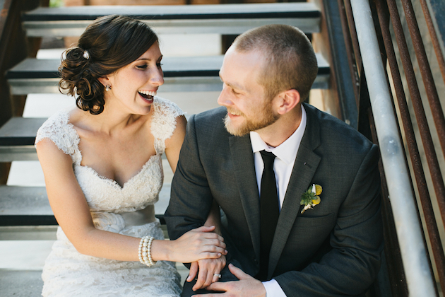 Cool Cotton Mill Wedding | Brett & Jessica Photography | Bridal Musings Wedding Blog 31