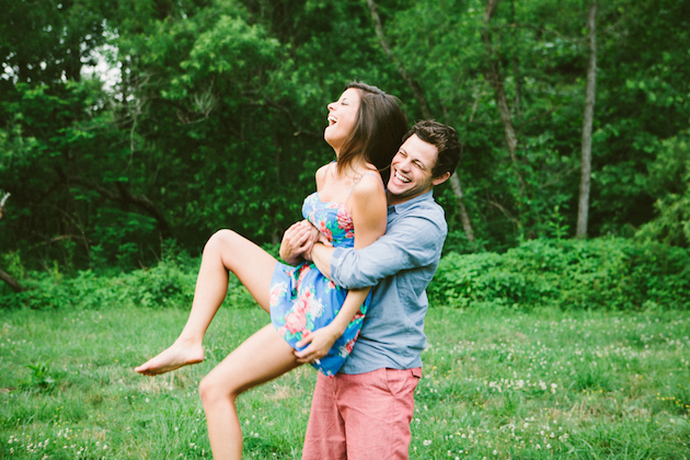 Fun, Dreamy Engagement Shoot | Yes Dear Studio | Bridal Musings Wedding Blog 28