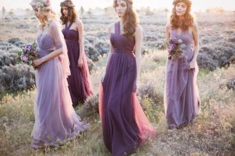 Ethereal and Romantic Bridesmaids Dress Style
