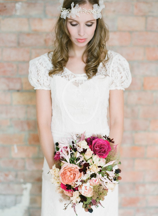 Wedding Dresses  Belgium : Chic loft style belgian wedding inspiration