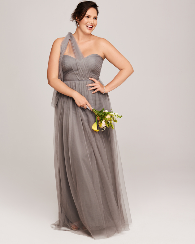 Romantic bridesmaids dress style from nordstrom for Edric woo wedding dresses