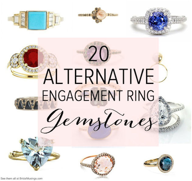 Pin Alternative Engagement Rings Bridal Musings Wedding Blog