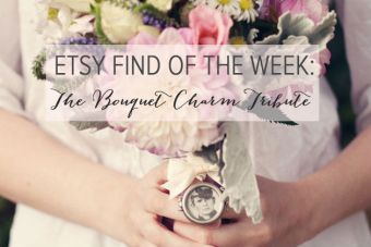 Etsy Find of the Week: The Bridal Bouquet Charm Tribute