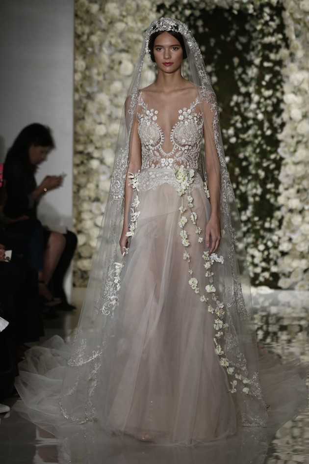 Wedding Dresses Fall 2015 Reem Acra Fall Collection