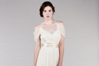 Perfectly Simple Wedding Dresses by Saja Wedding