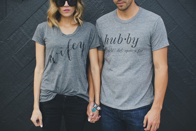 wifey and hubby t shirts