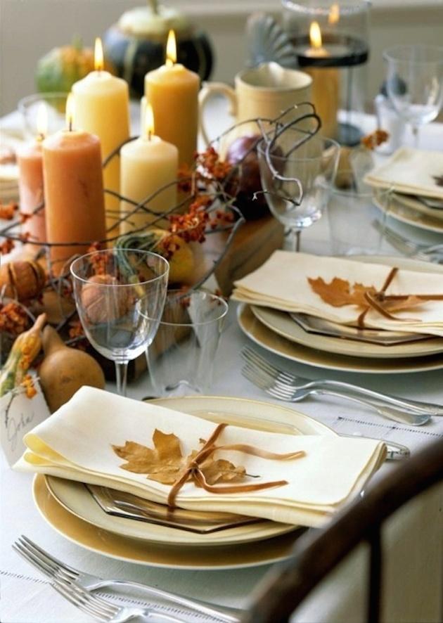 15 Leaf Ideas for Fall Weddings | Bridal Musings Wedding Blog 11