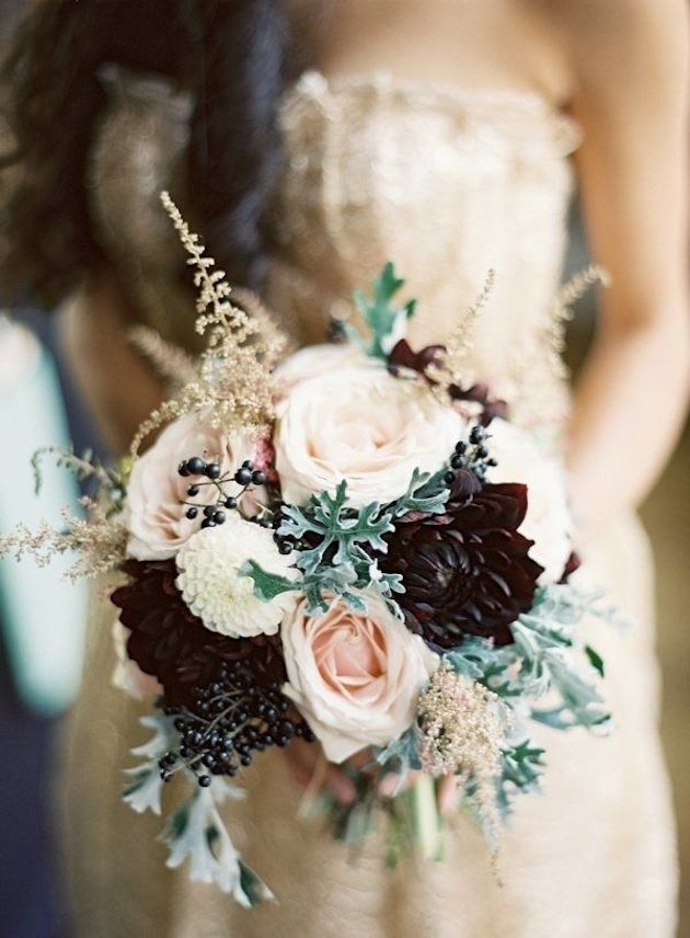 25 Gorgeous Fall Bouquets for Autumn Weddings | Bridal Musings Wedding Blog 21