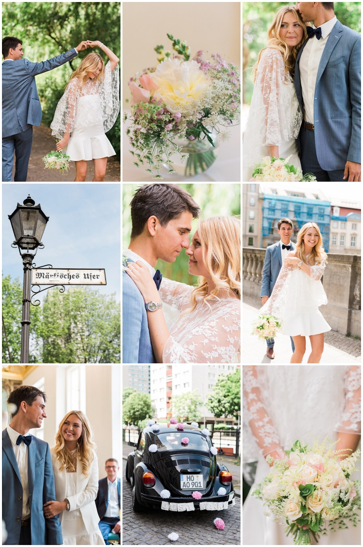 Is This The Most Chic Civil Wedding Ever? - Weddbook