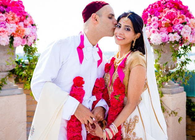 Colourful Indian Rooftop Wedding in New York | Farnaz K Studio | Bridal Musings Wedding Blog 24