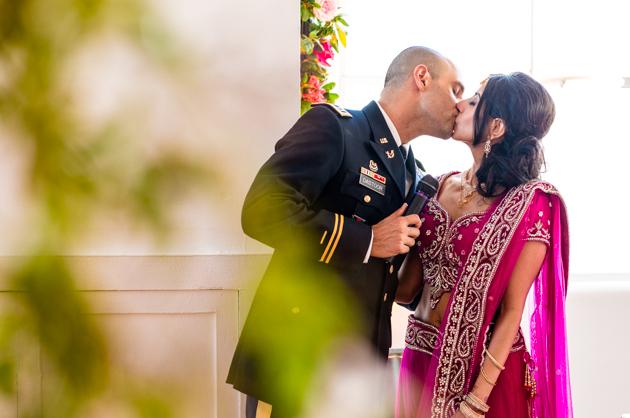 Colourful Indian Rooftop Wedding in New York | Farnaz K Studio | Bridal Musings Wedding Blog 38