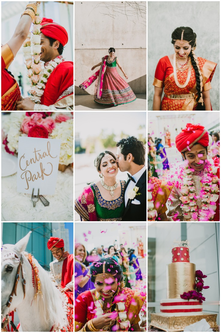 Colourful Indian Wedding Phil Chester Photography Bridal Musings Wedding Blog