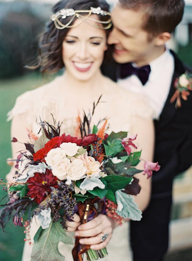Fall Bouquets | Bridal Musings Wedding Blog