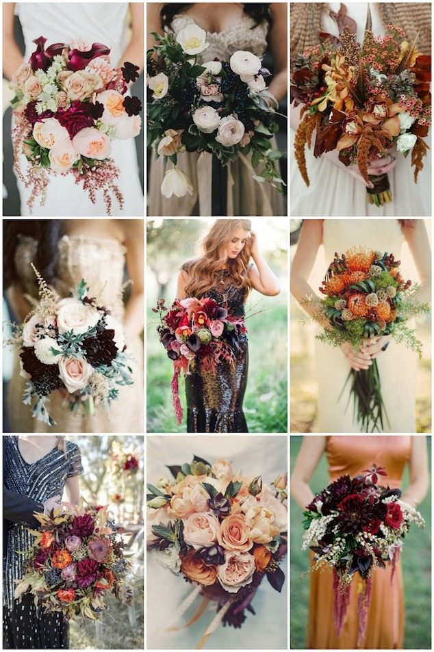 25 Stunningly Gorgeous Fall Bouquets For Autumn Brides - Weddbook