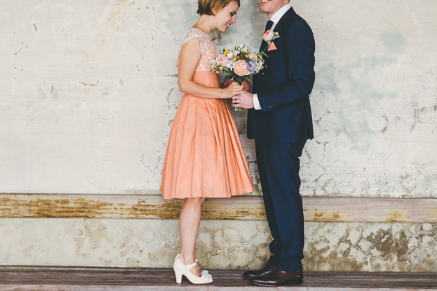 Homemade Retro Seaside Wedding | Miss Gen Photography | Bridal Musings Wedding Blog  30