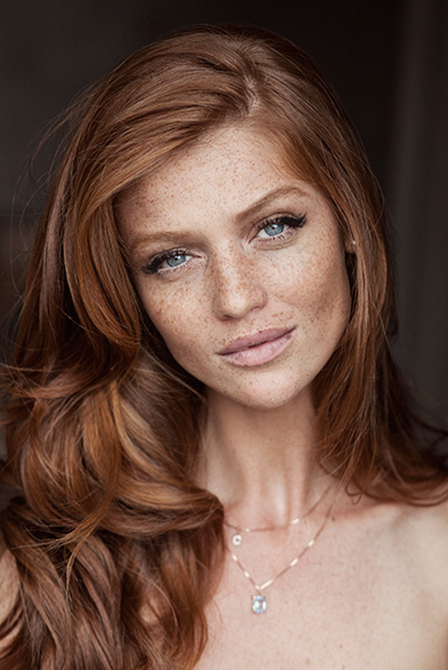 ... Inspiration For Brides with Freckles | Bridal Musings Wedding Blog 11