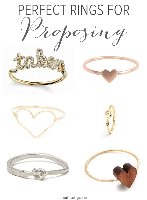 Rings to Propose With | Bridal Musings Wedding Blog