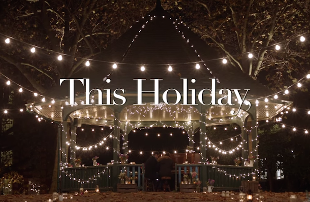 Romantic Christmas Ad | Bridal Musings