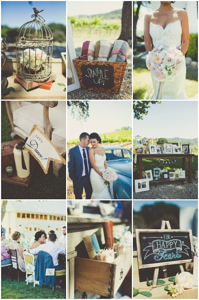 Rustic Vineyard Wedding  Sarah Kathleen Photography Bridal Musings Wedding Blog