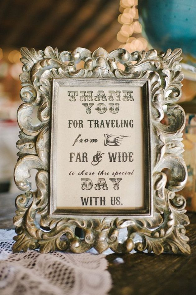 Thank You Wedding Ideas Ways to Thank Your Guests Bridal Musings ...
