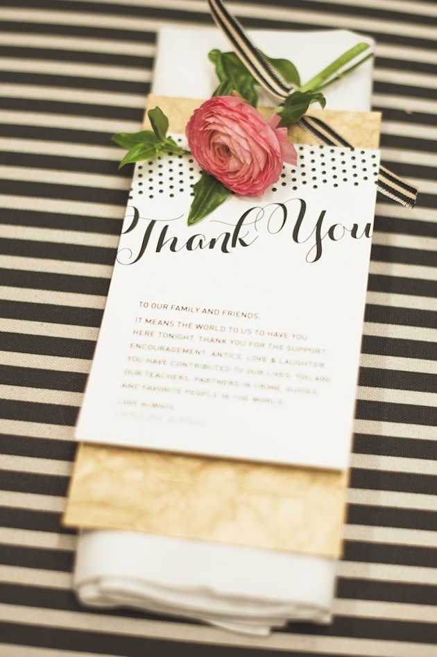 Wedding Thank You Ideas For Guests : Thank You Wedding Ideas Ways to Thank Your Guests Bridal Musings ...