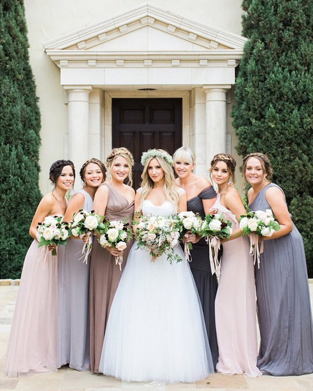 Celebrity Bridesmaids' Dresses: What they Wore to Their ...