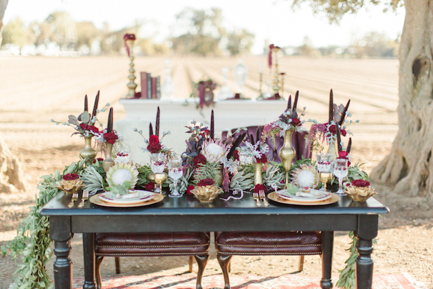 Christmas Wedding Inspiration | Sam Kirk Photography | Bridal Musings Wedding Blog 16