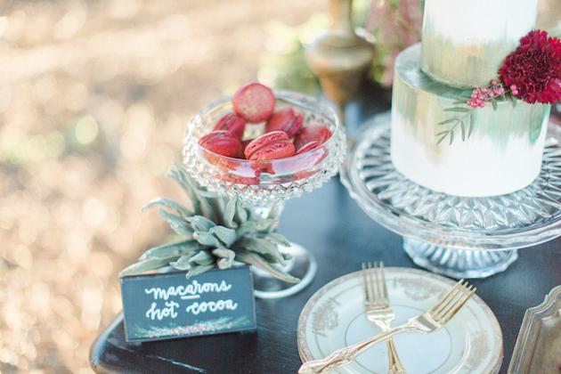 Wedding macarons sam kirk photography bridal musings wedding blog