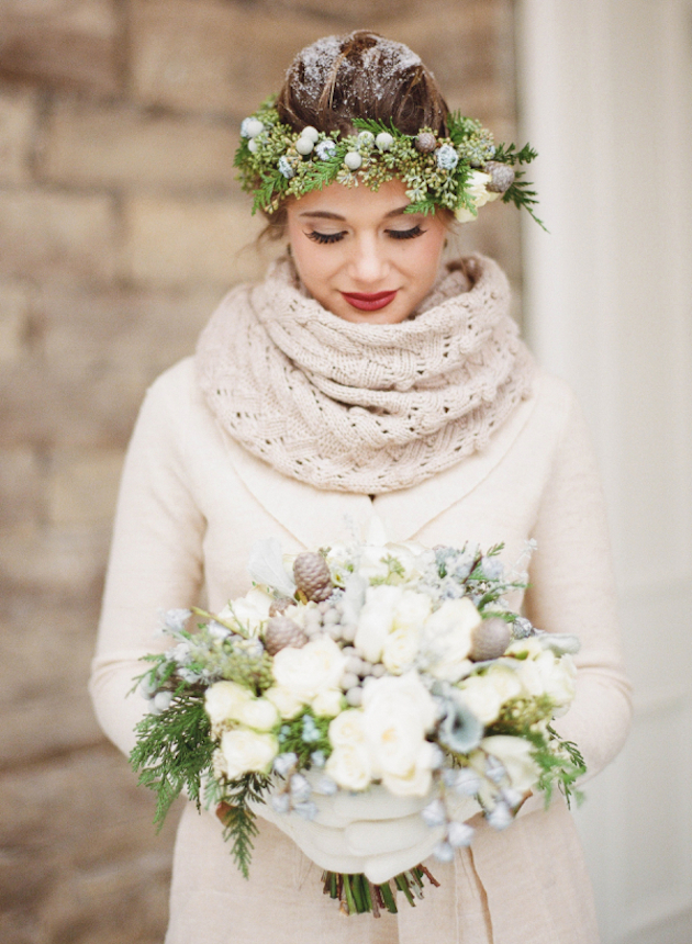 Unique Winter Wedding Ideas | Bridal Musings Wedding Blog