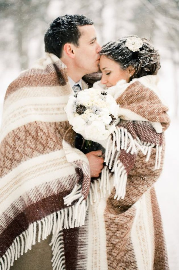 Unique Winter Wedding Ideas | Bridal Musings Wedding Blog 19