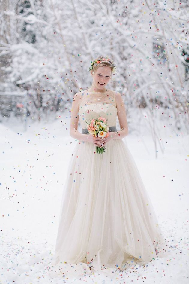 Winter Wedding Ideas | Bridal Musings Wedding Blog