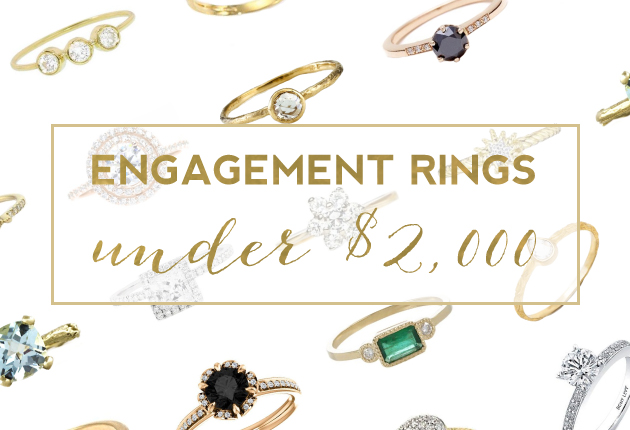 Featured Image - 20 Stunning Engagement Rings Under $2,000
