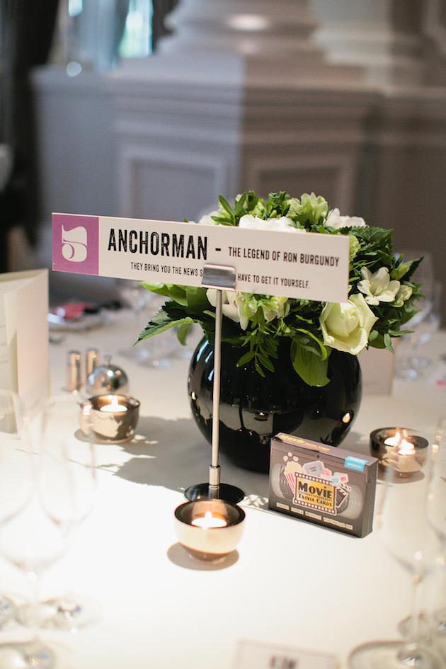 Cool Movie Themed Wedding In London Weddbook