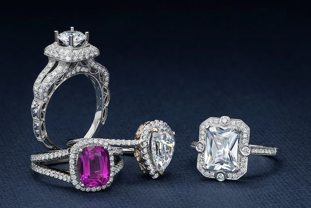 Joseph Jewelry | Custom-Made Engagement Ring | Bridal Musings Wedding Blog 3
