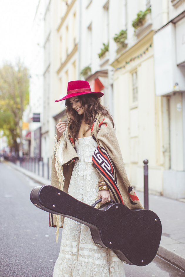 Bride with a Guitar and a Poncho | Camille Marciano for Junophoto | Bridal Musings Wedding Blog 29