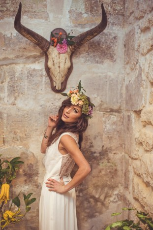 Cool Southwest Boho Bride | Camille Marciano for Junophoto | Bridal Musings Wedding Blog 43