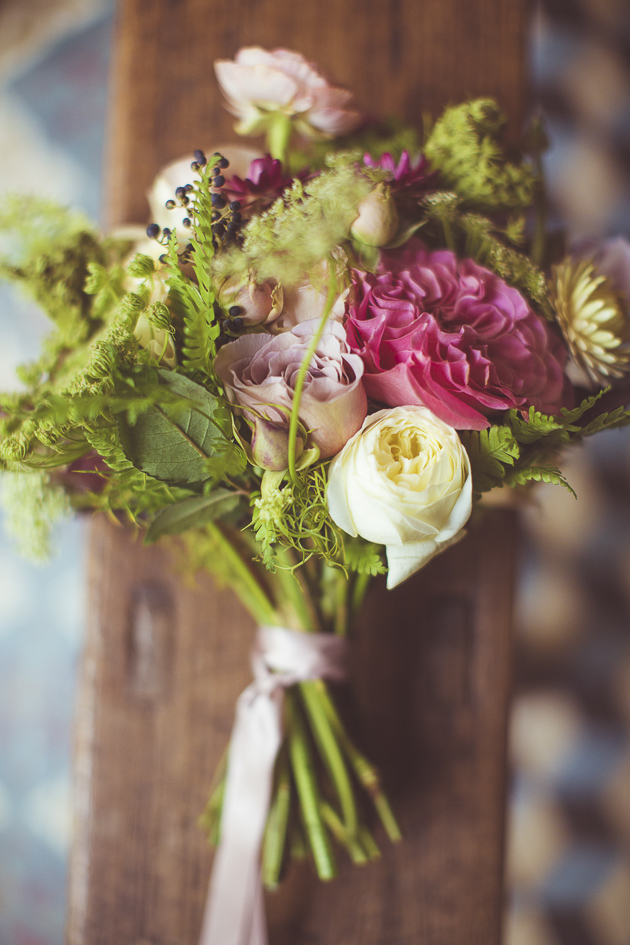 Pink Wedding Bouquet | Camille Marciano for Junophoto | Bridal Musings Wedding Blog 8