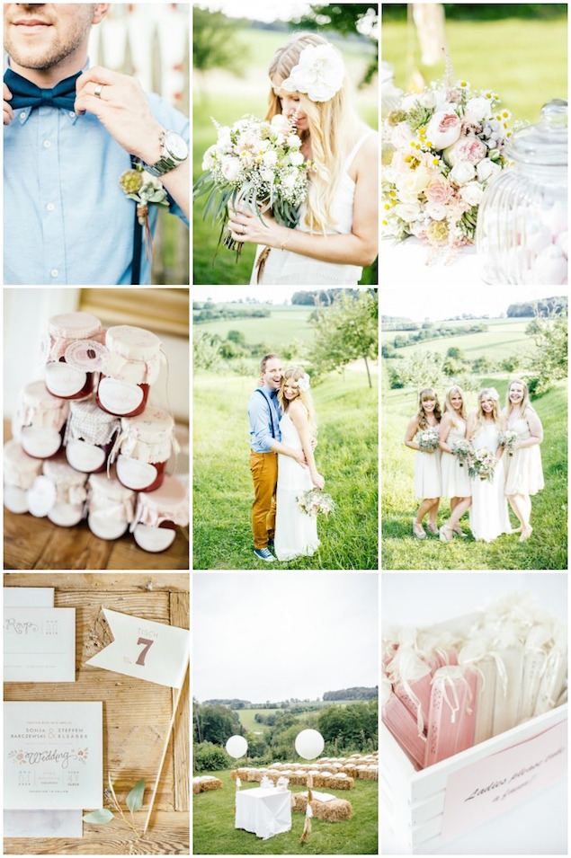 Bohemian German Wedding | Die Hochzeitsfotografen | Bridal Musings Wedding Blog