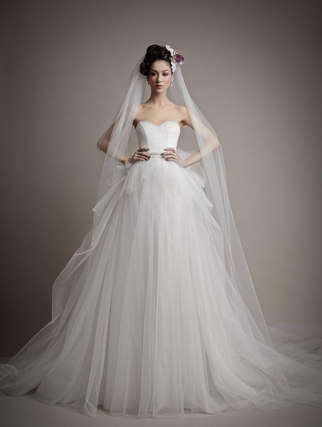 Ersa Atelier Wedding Dress Collection 2015 | Bridal Musings Wedding Blog 17