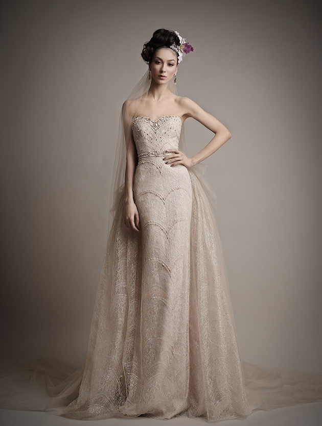 Ersa Atelier Wedding Dress Collection 2015 | Bridal Musings Wedding Blog 30