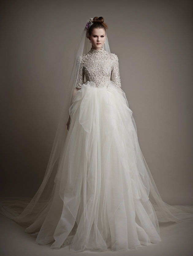 Ersa Atelier Wedding Dress Collection 2015 | Bridal Musings Wedding Blog 34