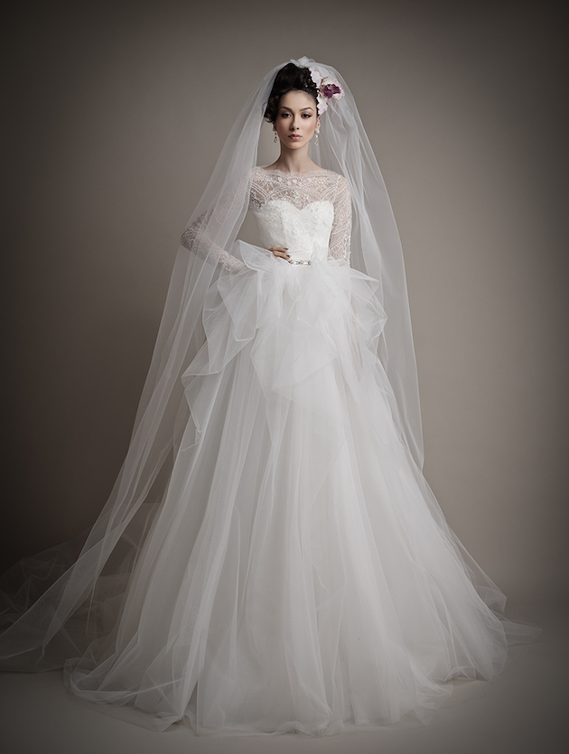 Ersa Atelier Wedding Dress Collection 2015 | Bridal Musings Wedding Blog 38
