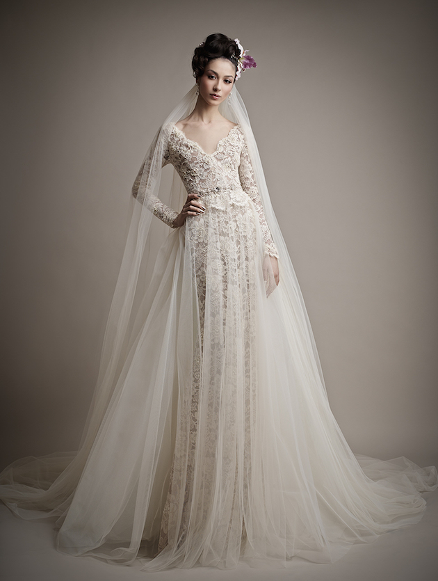 Ersa Atelier Wedding Dress Collection 2015 | Bridal Musings Wedding Blog 7