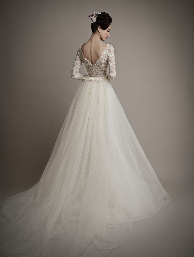 Ersa Atelier Wedding Dress Collection 2015 | Bridal Musings Wedding Blog 8