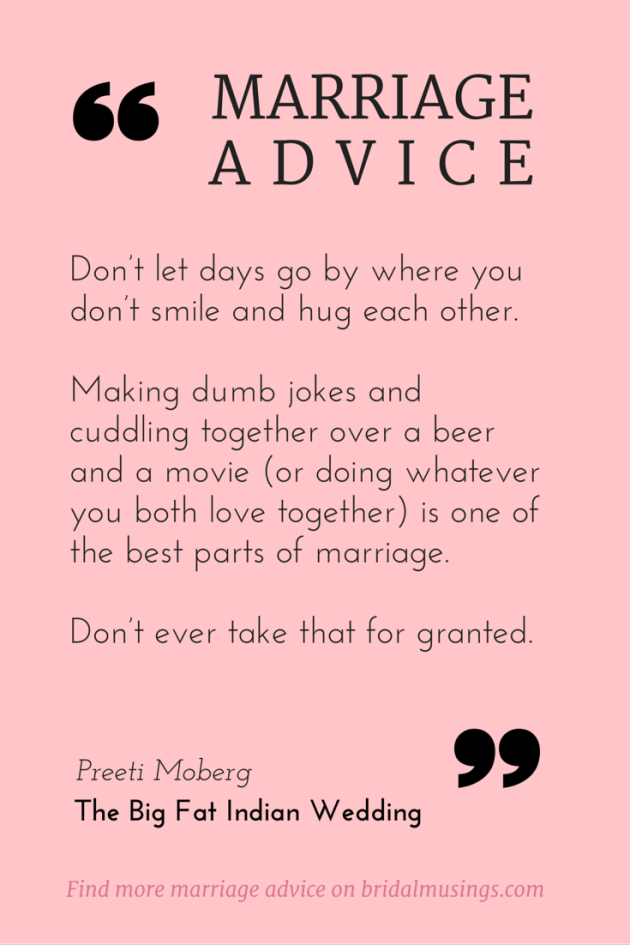 My Number One Piece Of Marriage Advice